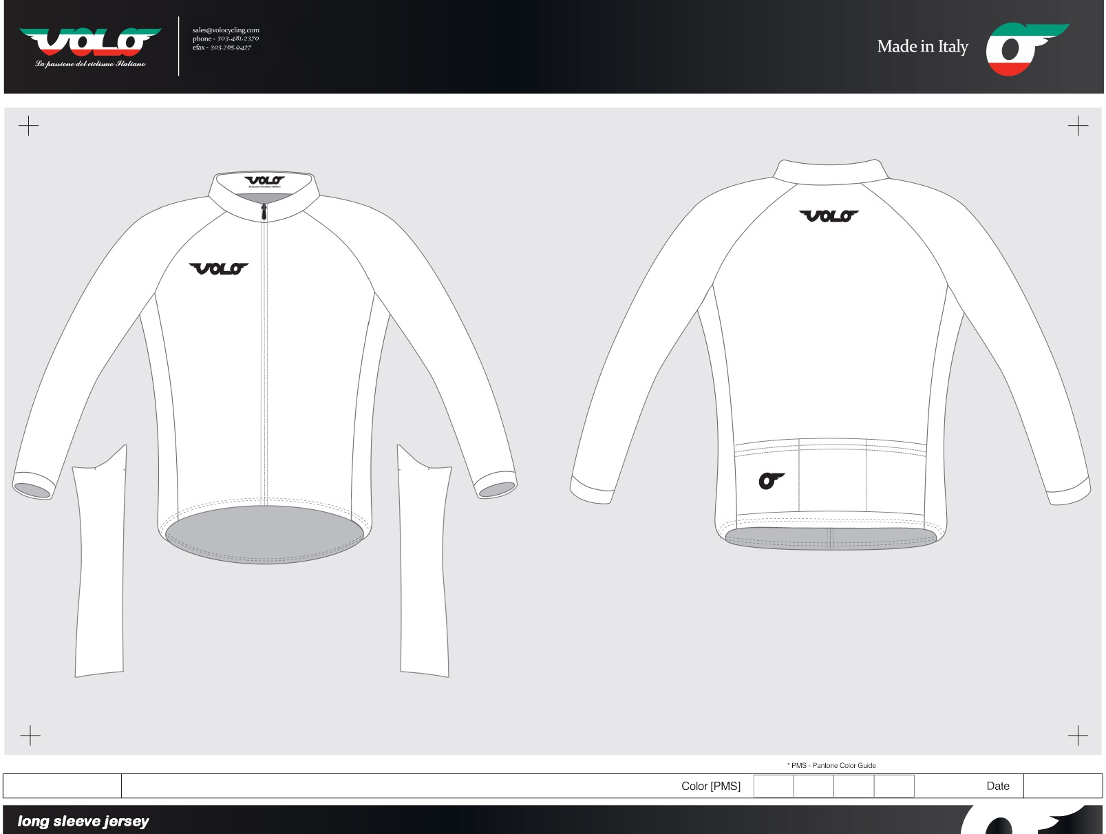 Design templates volo cycling for Custom cycling jersey template